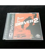 Driver 2 The Wheelman Is Back Playstation Game Two Discs Case Instructions - $8.90