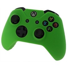Xbox ONE © Controller pelle verde custodia Silicone cotura Gel protettiv... - $7.73