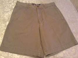 J. Crew shorts Size 32 Mens khaki flat front Inseam 8.5 inches - $18.50