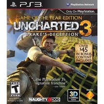 Uncharted 3: Drake's Deception - Game of the Year Edition - Playstation ... - $6.82