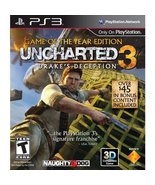 Uncharted 3: Drake's Deception - Game of the Year Edition - Playstation ... - $3.82