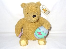 "GUND Classic Pooh Winnie Stuffed Animal Plush 9"" Easter Egg Artist Paint... - $9.99"