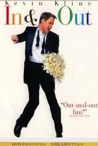 In & Out - Kevin Kline, Joan Cusack -Tom Selleck ALL REG SEALED DVD - $17.90