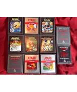 Vtg 70s 80s Lot Of 11 Atari 2600 Game Cartridges Centipede Ms Pac-Man Br... - $121.54