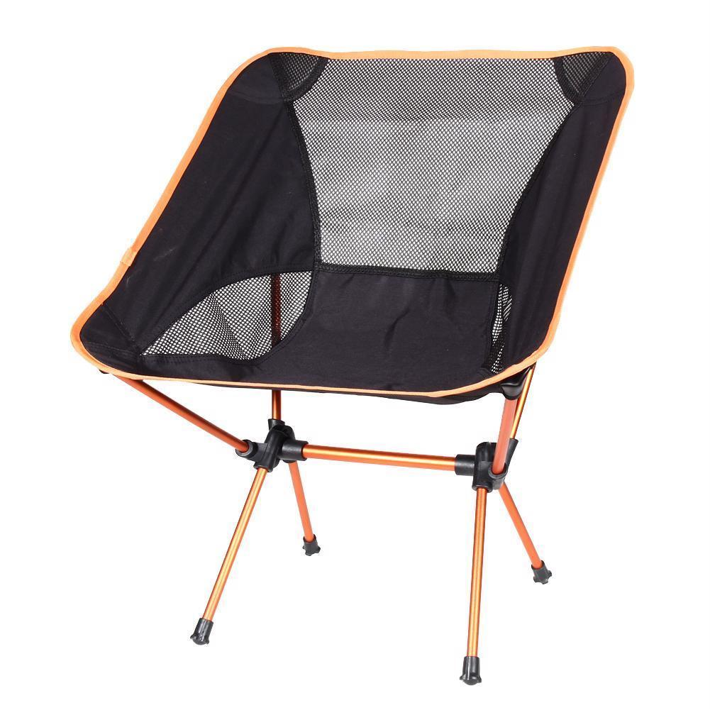 Lightweight Beach Chair Outdoor Portable Folding For Fishing Camping Barbecue