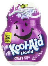 Kool-Aid, Liquid Drink Mix, Grape, 1.62oz Container - $21.74