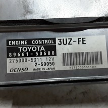 03 04 Lexus LS430 ECU ECM electronic control module 4.3 L engine 89661-50680 - $148.49