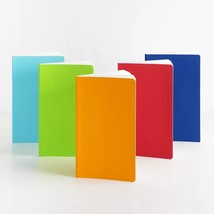 Fizz 1 Piece PU Cover Notebook Portable Travel Notepad Students Journal D - $19.00