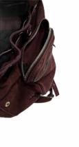 ALEXANDER WANG Marti Lambskin Leather Backpack Rare Burgundy Purse Bag image 8