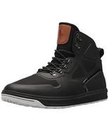 Polo Ralph Lauren Alpine 200 Mesh High Top Sneaker Black Best Shoe NEW (... - $74.97