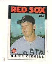 Topps  #661 1986 Roger Clemens Baseball Card - $0.99