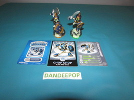 Skylanders 2 Chop Chop First & Second Ser Figures w/ cards Activision vi... - $8.41