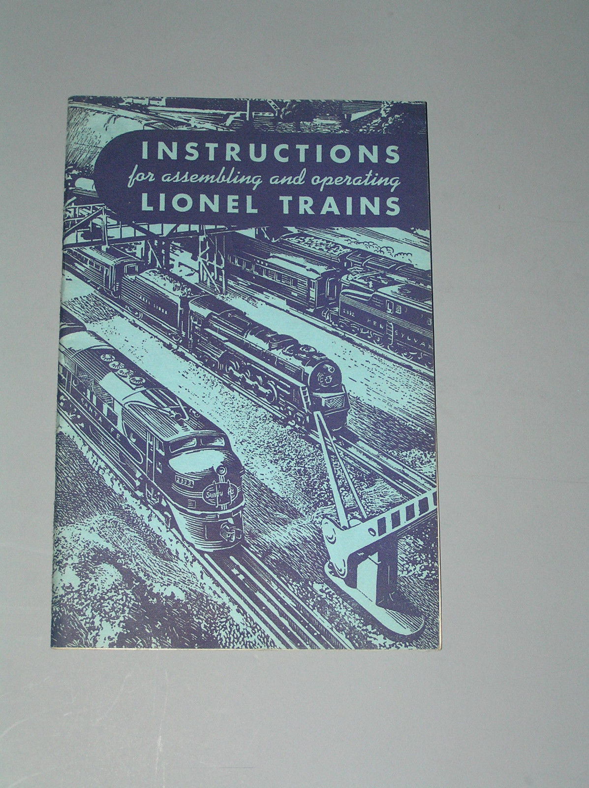 1949 LIONEL TRAINS SET INSTRUCTION MANUAL