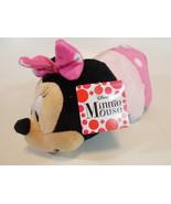 "LARGE 14"" FLIPAZOO Disney Minnie Mickey Mouse Stuffed Animal Plush PILLOW - $17.95"