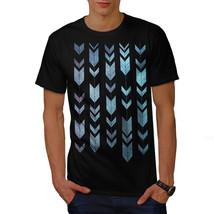Arrow Cool Design Fashion Shirt Shape Art Men T-shirt - $12.99+
