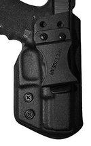 Spetz Gear IWB Kydex Holster Fits Springfield XD 9/40, Color Black - $24.75