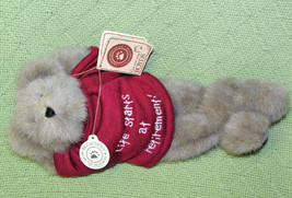 Boyds Bears Best Dressed Ben Hardley Doinnuttin Retirement Teddy Bear With Tags - $19.64