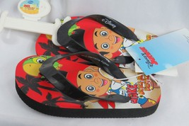 Flip Flops Disney Jake The Pirate Toddler Boys Sandals Flip Flops Size 7 - $7.89