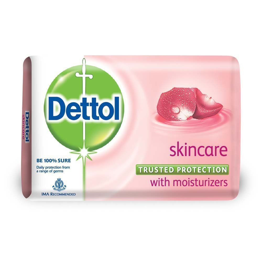Dettol Soap Skincare  Soap Bar,pck of 3 of 125g free shipping