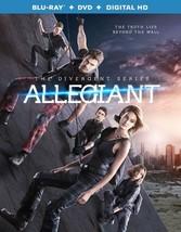 Allegiant (Blu Ray/DVD W/Digital Hd) (Ws/Eng/Eng Sub/Span Sub/Eng Sdh/5.1Dt
