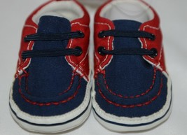 Baby Brand Red White Blue 309067 Pre Walker Infant Shoes 0 to 6 Months image 2