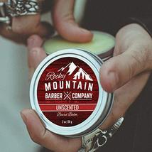 Beard Balm - Classic Unscented - 100% Natural - Premium Wax Blend with Nutrient  image 3