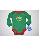 NEW Unisex Boy Girl Newborn 5-8lbs Carter's HOLIDAY Bodysuit Shirt DEAR ... - $2.99