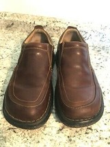 BORN Oxford Brown Leather Casual Shoe Men's US 11.5 MW - $39.55
