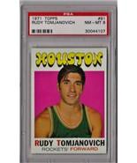 1971 Topps Rudy Tomjanovich Rookie #91 PSA 8 P582 - $47.28