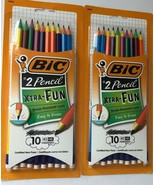 BIC Xtra Fun #2 HB Black Lead Pencils 2 pks of 10 (20 Total Pencils)  - $11.26