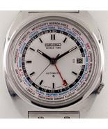 Seiko Automatic Worldtime Stainless Steel Watch 6117-6409 w/ Seiko Band - $712.80