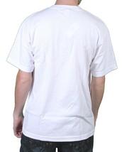 Metal Mulisha Mens Burial Ground Helmet Skull Horror White T-Shirt NWT image 2