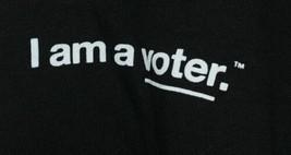 Royal Apparel I Am A Voter Hoodie Color Black Size Large image 2