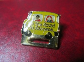 On the Road to Success Pin - $3.99