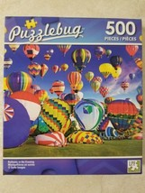 Puzzlebug 500 Pc. Puzzle Balloons In The Evening New Sealed Free US Ship... - $8.42