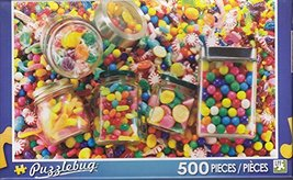 Puzzlebug 500 Piece Jigsaw Puzzle ~ Candies Galore! - $14.98