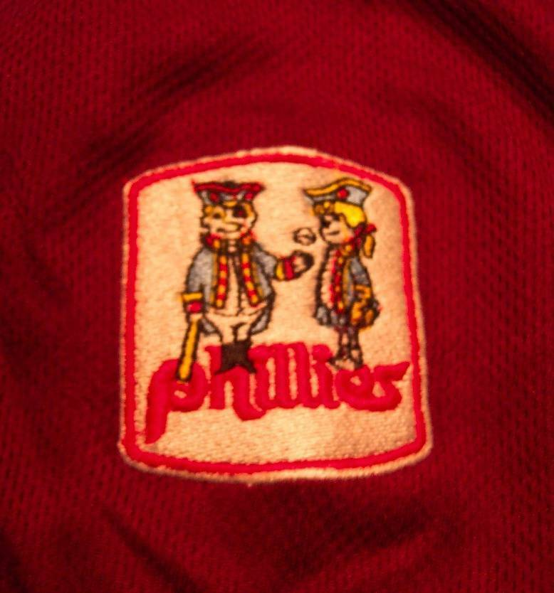 VINTAGE STYLE PHILADELPHIA PHILLIES MLB STITCHED JERSEY XL NEW w/ TAG