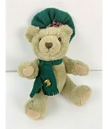 Bialosky Treasury Bear Fully Jointed Sidney w Scarf and Hat Cap Scarf Pi... - $18.69
