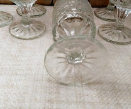 Set of 8 ANCHOR HOCKING WEXFORD WINE GOBLETS 5- 1/4 in. H     image 4