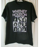 In Memory of Whitney Houston Queen of Pop 1963 - 2012 Women Large Black ... - $18.80