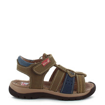 Boy's Rilo Leather Crazy Moss Green Fisherman Sandal (Toddler/Youth) - $29.99