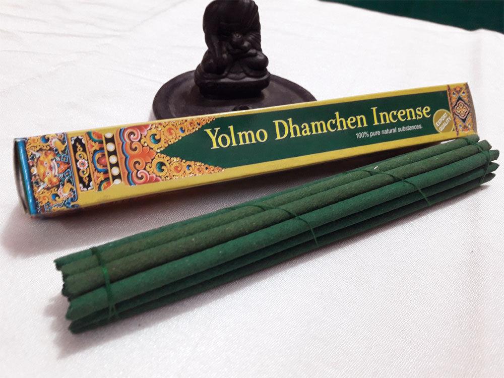 Yolmo Dhamchen Natural Ancient Tibetan  Incense Stick