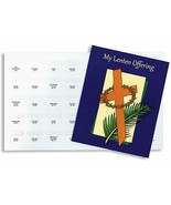 50 PACK - My Lenten Offering Coin Easter Tithing Folders with Dated Slots - $49.40