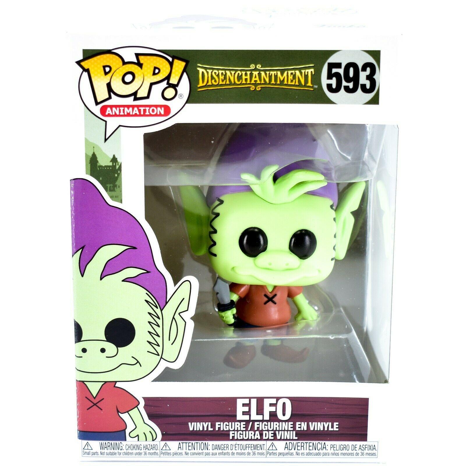 Funko Pop! Animation Disenchantment Elfo #593 Vinyl Action Figure