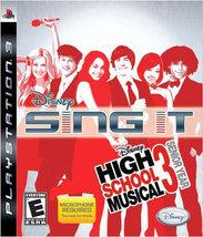 DISNEY SING IT HIGH SCHOOL MUSICAL 3 SENIOR YEAR-NLA  - PlayStation 3 - ... - $15.07