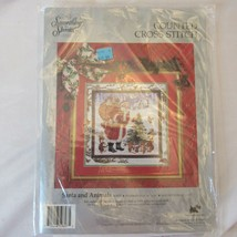 Candamar Something Special Santa And Animals Counted Cross Stitch Kit 50607 New - $19.99