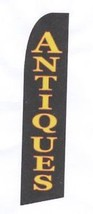 ANTIQUES SWOOPER FLAG 11 FEET TALL BANNER SIGN AD F900 - $19.34