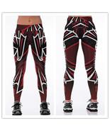 Womens Atlanta Falcons Print Yoga Workout Pants NFL Leggings Wholesale T... - $23.99