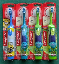 Lot 4 Colgate 360 Cheek & Tongue Cleaner Battery Power Soft Bristle Toothbrush - $20.56