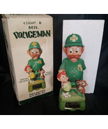 "RARE! Hoffman Orig. Mr Lucky Series ""Mr Policeman"" Decanter w/ Music Box... - $247.50"